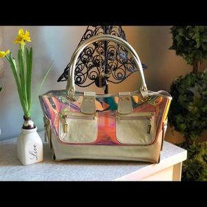 Stuart Weitzman rainbow bag